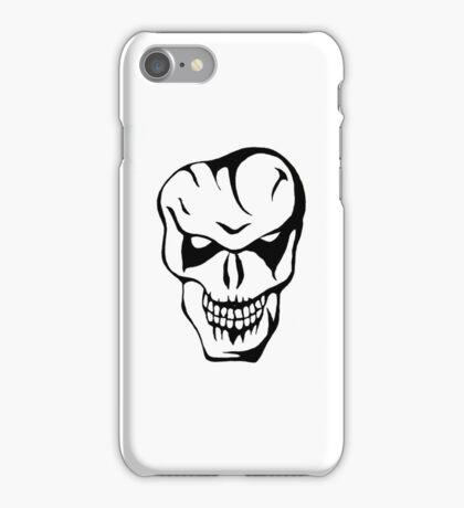 joker skull iPhone Case/Skin