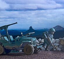 Willys Jeep by Steve  Woodman