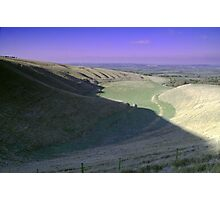 The Manger White Horse Hill Uffington  Photographic Print