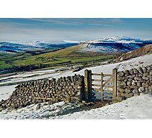 Gateway to Wharfedale Photographic Print