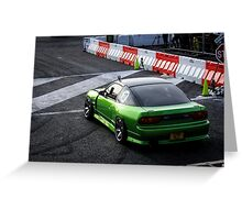 Nissan 180sx S13 Greeting Card
