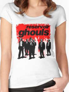 RESERVOIR GHOULS Women's Fitted Scoop T-Shirt