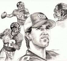 Eli Manning by Kathleen Kelly-Thompson