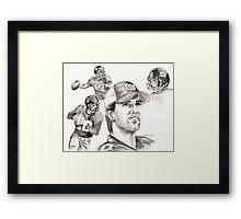 Eli Manning Framed Print