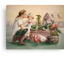 The Veggie Patch Canvas Print