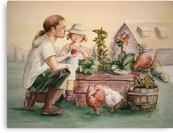 The Veggie Patch by Sarah  Mac