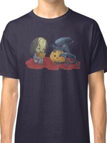 Alien vs Predator Halloween Edition Classic T-Shirt