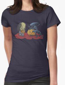 Alien vs Predator Halloween Edition Womens Fitted T-Shirt