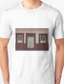 Windows and Door in a Wall Unisex T-Shirt
