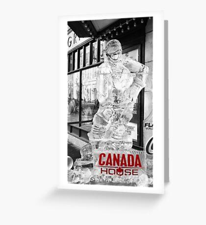Canada House Greeting Card