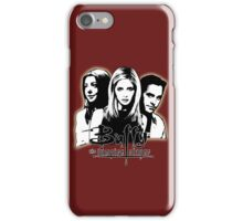 A Trio of Scoobies (Willow, Buffy & Xander) iPhone Case/Skin