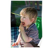 Pippin's 2nd Birthday - Let Them (Me) Eat Cake Poster