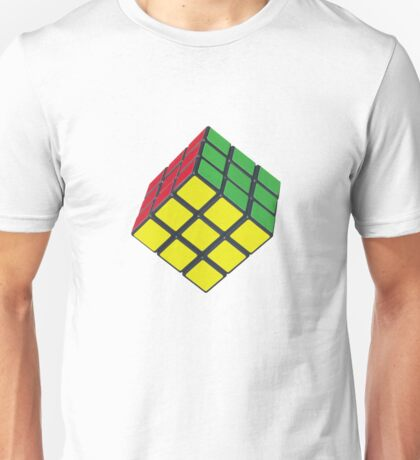 Rubik's cube stuff 2 Unisex T-Shirt