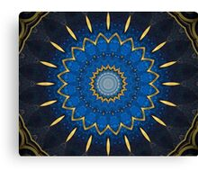 Science Fiction Abstract Pattern 4 Canvas Print