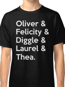 Arrow Season 4 Classic T-Shirt