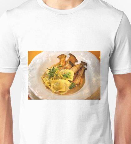 Ravioli con Funghi Unisex T-Shirt