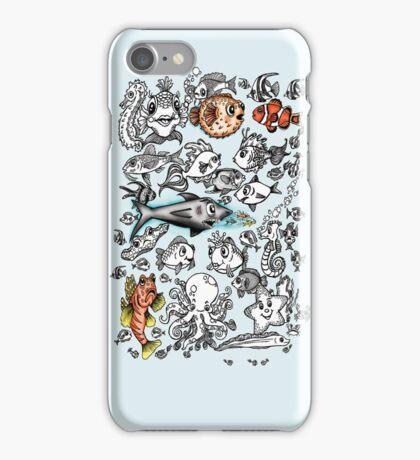 Cartoon Fishies IPhone Case iPhone Case/Skin