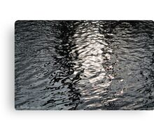 Water patterns II Canvas Print