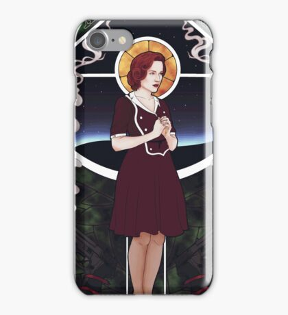 Dana Scully Art Nouveau iPhone Case/Skin