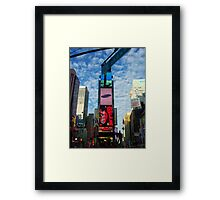 Broadway bound Framed Print