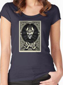 Ghost B.C. - Papa Emeritus II Classic Women's Fitted Scoop T-Shirt