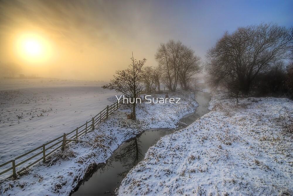 Snowy Landscape Sunrise 2.0 by Yhun Suarez