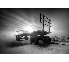Cold & Empty Photographic Print