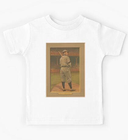 Benjamin K Edwards Collection Wildfire Schulte Chicago Cubs baseball card portrait Kids Tee