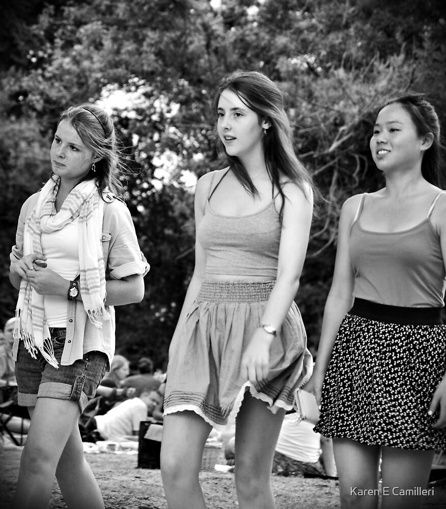 girls day out by Karen E Camilleri