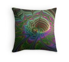 Pastel Overflow Throw Pillow