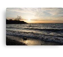 Lakeside - Waves, Sand and Sunshine Canvas Print