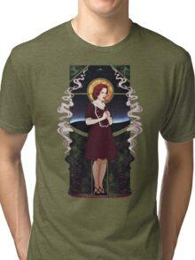 Dana Scully Art Nouveau Tri-blend T-Shirt