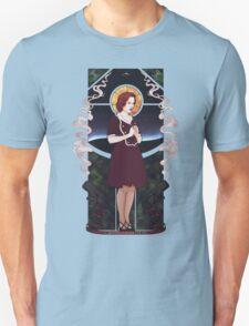 Dana Scully Art Nouveau Unisex T-Shirt