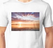 Pink and Gold Morning Zen - Toronto Skyline Impressions Unisex T-Shirt