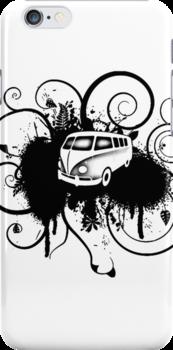 VW Graffiti  by aaronnaps