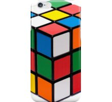 Rubik's cube stuff iPhone Case/Skin