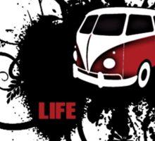 VW Graffiti Surfer life Sticker