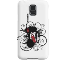 VW Graffiti Surfer life Samsung Galaxy Case/Skin