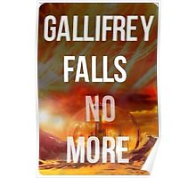 Doctor who Gallifrey falls no more Poster