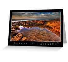 Rockpool HDR Greeting Card