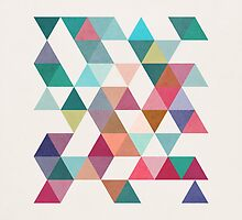 Triangles 1 by Latte Design by lattedesign