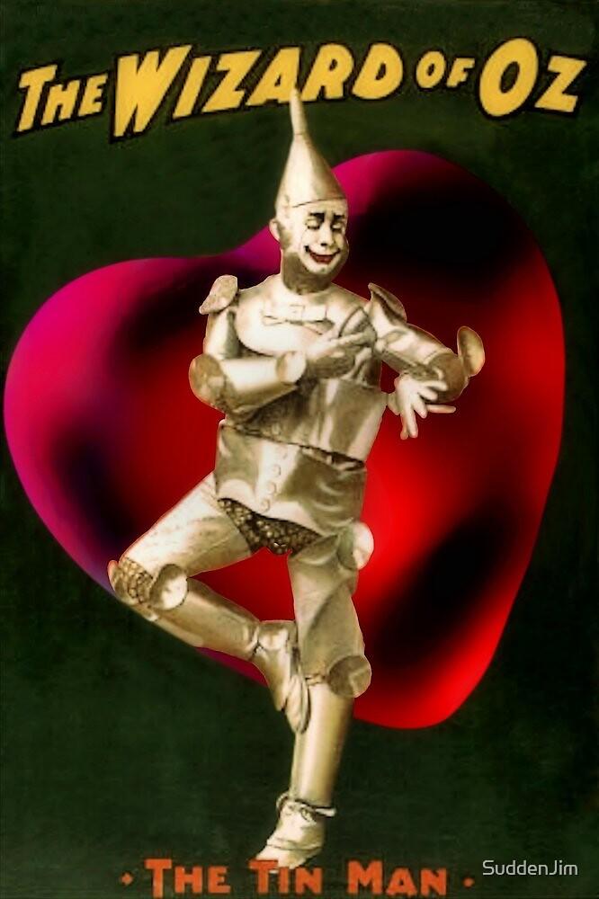 Tin Man With Heart by SuddenJim