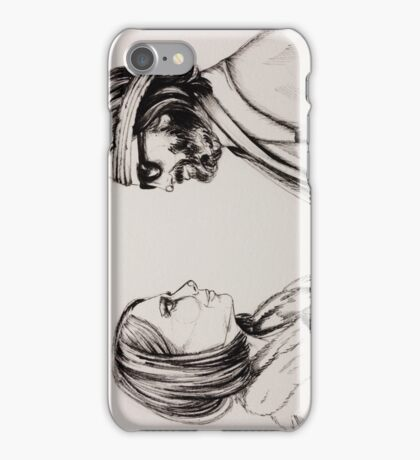 Margot and Richie iPhone Case/Skin