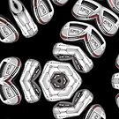 set of golf clubs by david balber