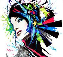Graffiti Girl #8 by BPMs