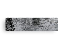 Water patterns Canvas Print
