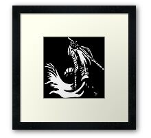 Artorias (White) Framed Print