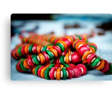 colorful Jewellery Canvas Print