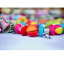 colorful Jewellery Photographic Print