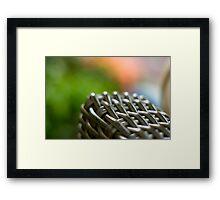 Rattan  Framed Print